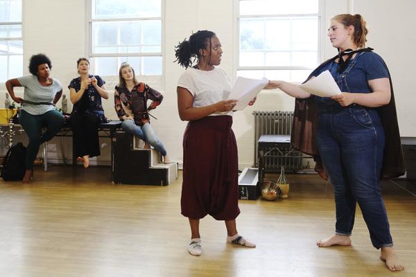 Alicia McKenzie and Lydia Rose Bewley